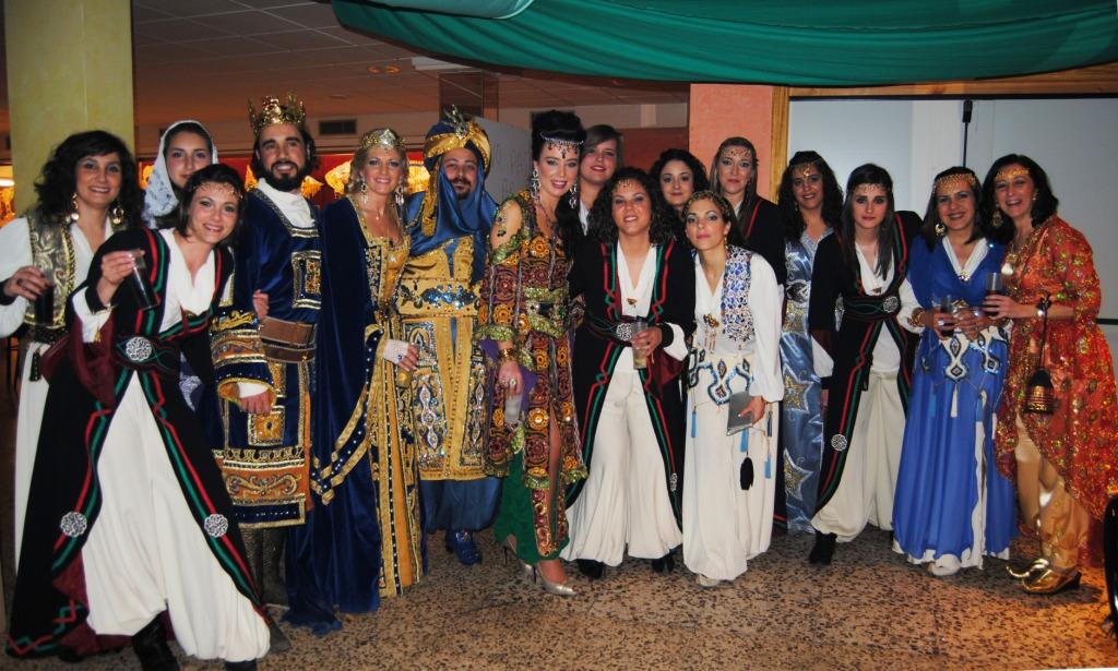 Cena Mozárabe para homenajear a los nuevos Sultanes