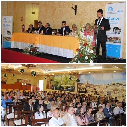 Más de 250 personas asisten a los actos del 40 Aniversario del Hospital Bernal