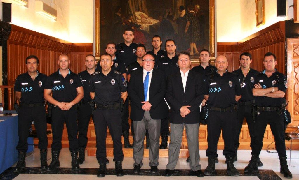 Agentes de la Policía Local se forman en Seguridad Ciudadana