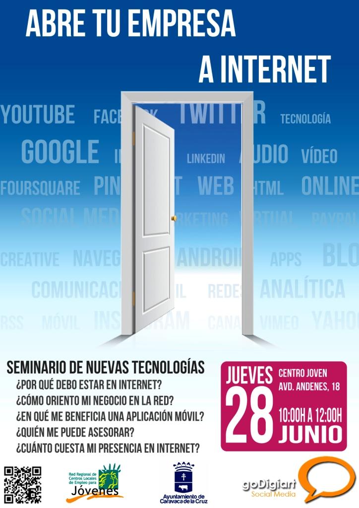 """Juventud organiza el seminario gratuito """"Abre tu empresa a Internet"""""""