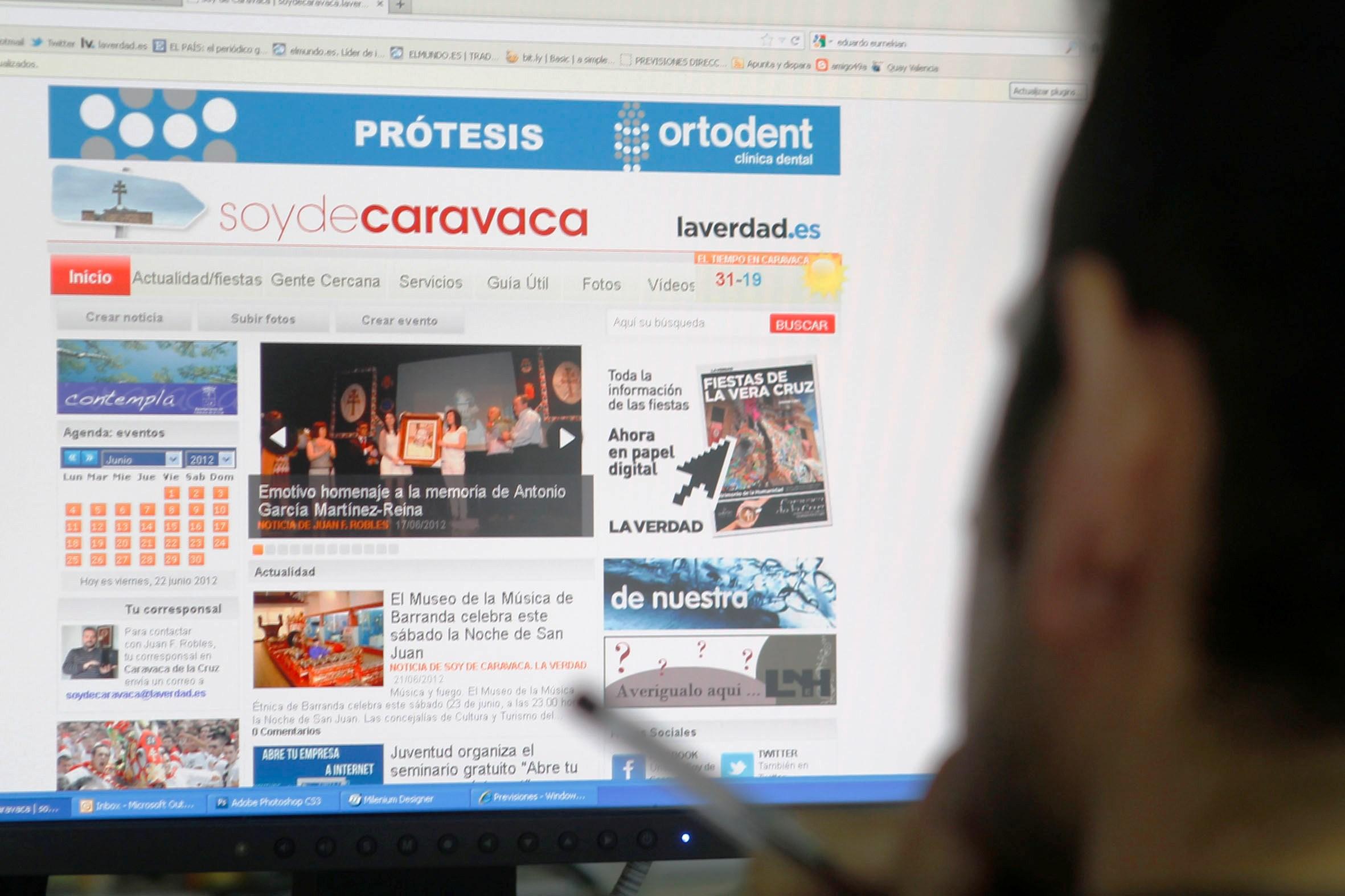 'Soy de Caravaca' logra una excelente acogida entre los internautas