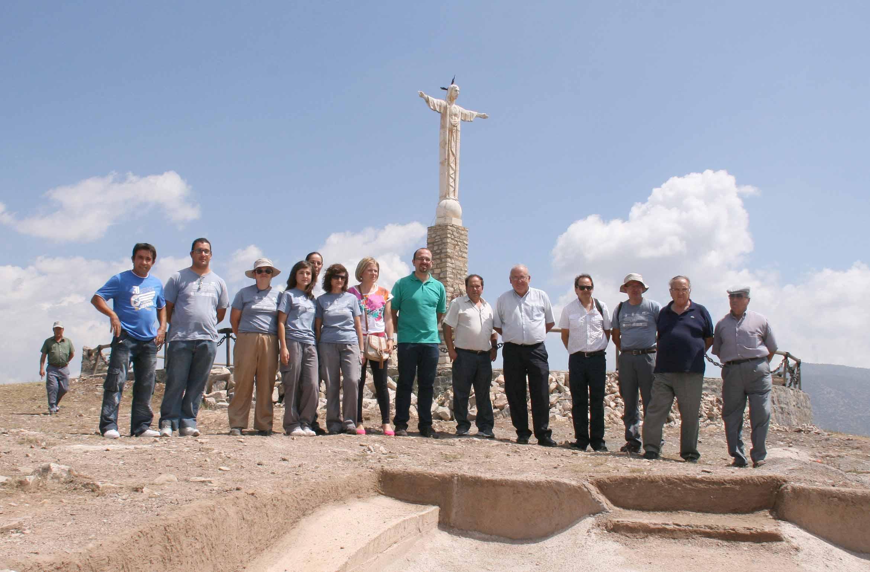 Consolidan y ponen en valor el yacimiento del Cerro de las Fuentes en Archivel