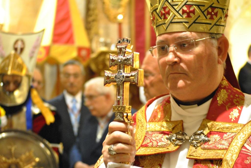 Lorca Planes presidió las celebraciones de la Exaltación de la Vera Cruz