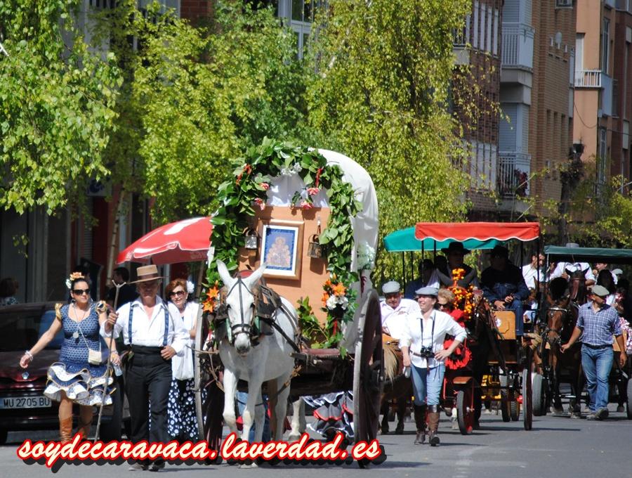 """El """"Rocío Chico"""" une Caravaca, Cehegín y Bullas a través de la Vía Verde"""