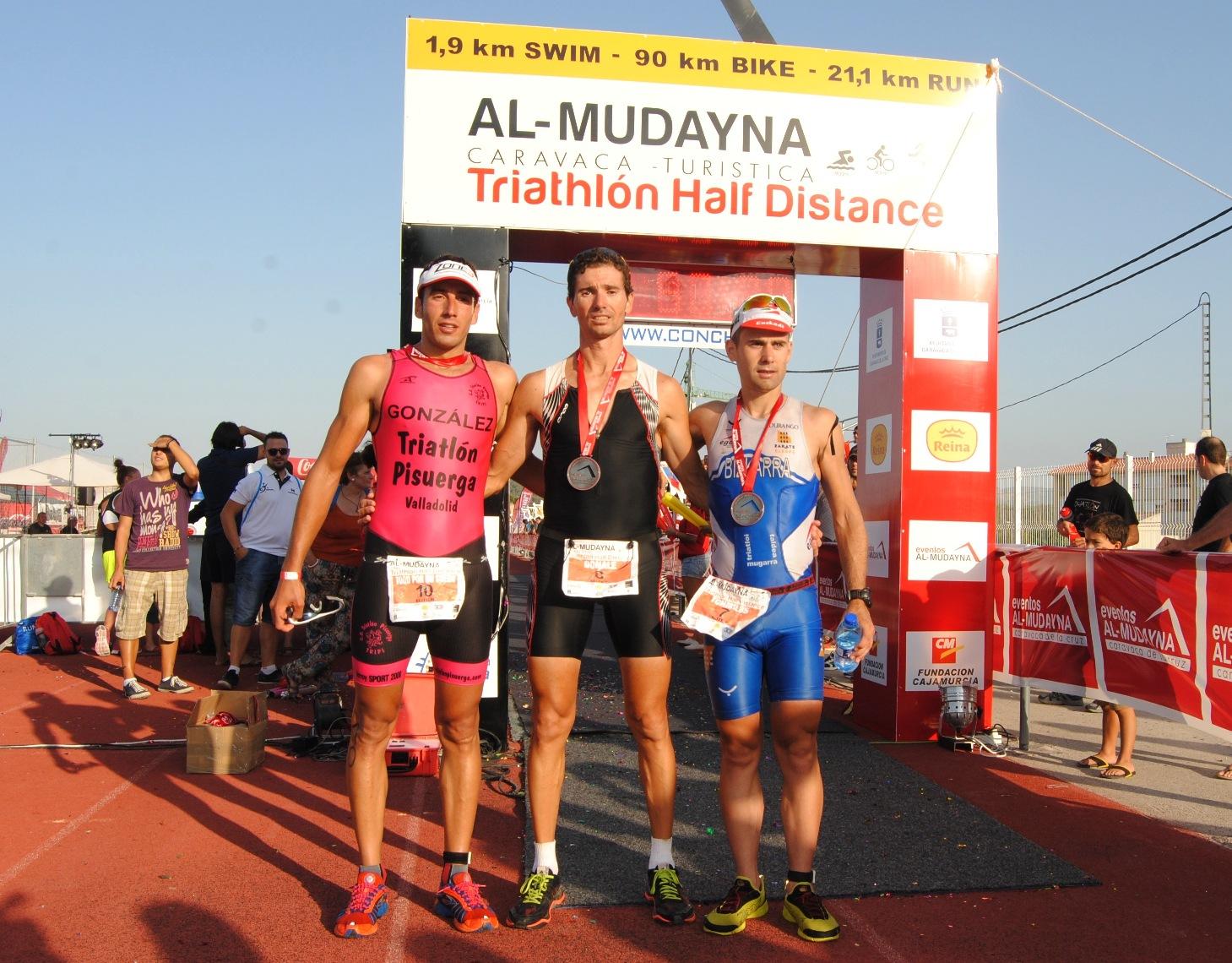 El murciano Alejandro Jiménez gana el I Triatlón Al-Mudayna