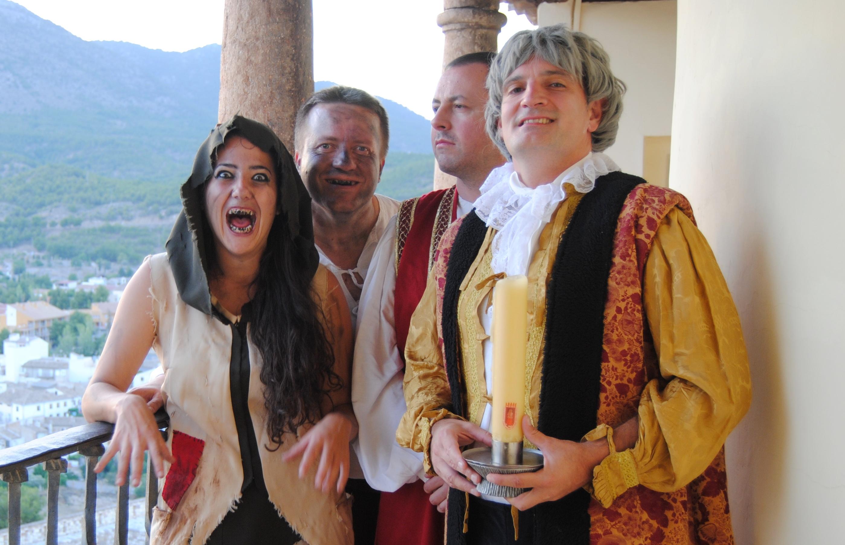 Regresan las visitas nocturnas teatralizadas al castillo de Caravaca