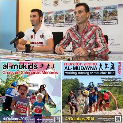 El IX Maratón Alpino Al-Mudayna reunirá el 4 de octubre a 1.300 deportistas
